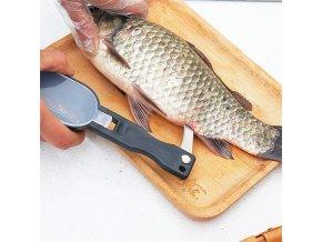 Škrabka + nůž na čištění ryb