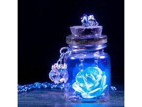 Náhrdelník s růžičkou