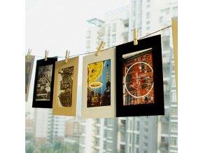 Papírové foto rámečky
