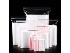 Uzavíratelné plastové pytlíky