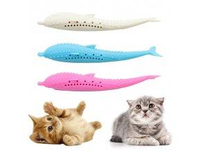 Silikonová hračka pro kočky SOFT