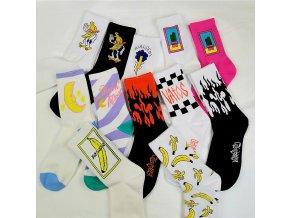Barevné ponožky CRAZY