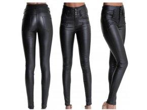 Dámské kožené kalhoty