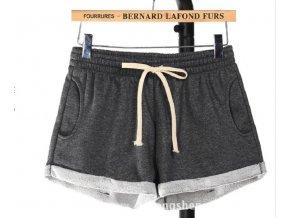 Bavlněné letní dámské šortky
