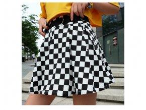 Dámská módní sukně s vysokým pasem