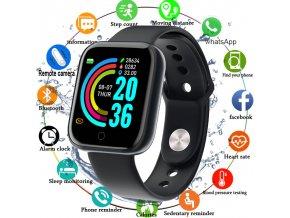 Chytré sportovní fitness hodinky