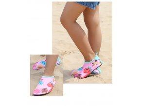 Dětské protiskluzové boty do vody