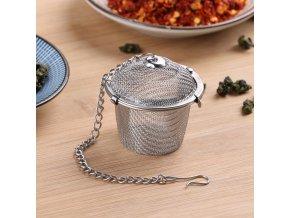 Nerezové sítko na čaj