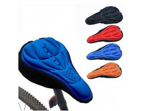 0 main mtb mountain bike cycling thickened extra comfort ultra soft silicone 3d gel pad cushion cover bicycle saddle seat 4 colors