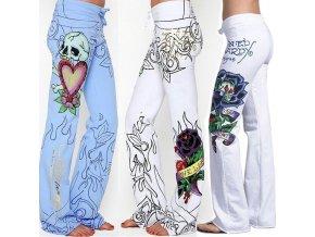 Dámské pohodlné kalhoty