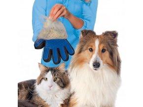 Vyčesávací rukavice ANIMAL