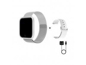 Smartwatch s kovovým páskem