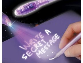 Magické pero s neviditelným inkoustem BONY
