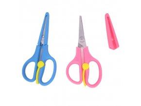 Dětské nůžky s ochranným krytem