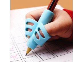 Pomůcka pro správné držení pera či tužky