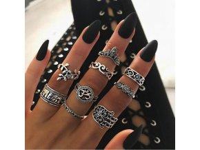 Set prstýnků