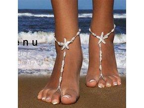0 main starfish barefoot sandals hair clip pool beach wedding bachelorette party bridal shower bridesmaid hawaiian summer decoration
