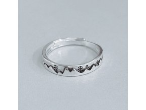 4 main anenjery christmas jewelry exquisite tree thai silver color rings female adjustable ring for gifts s r515