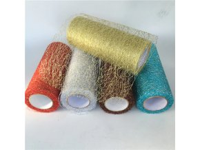 0 main 92mroll organza tulle roll spool fabric ribbon diy tutu skirt gift craft party chair sash wedding party decoration gold silver