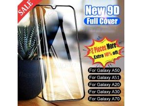 9D tvrzené ochranné sklo na Samsung
