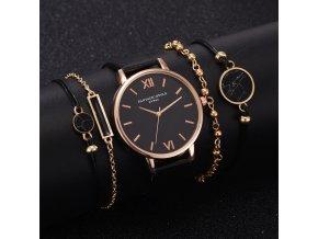 Dámské hodinky se sadou náramků