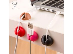 0 main 6pcs desk set wire clip electrical wire fitted hooksrails data cable glands winder organizer tie mounts office storage
