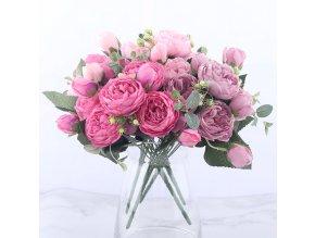 Umělé dekorativní květiny