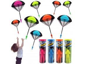 Dětská hračka - létající parašutista