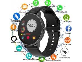 Chytré hodinky SMARTWATCH s kulatým ciferníkem