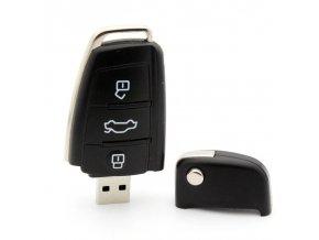 USB flash disk, který vypadá jako klíč od auta. Na výběr je z kapacit od 4 GB - 128 GB. Skvělé jako dárek!