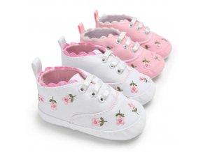 První boty pro holčičky