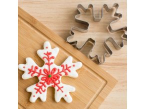 0 main snowflake christmas cookie tools cutter molds biscuit press icing set stamp mould stainless steel cake decorating tools