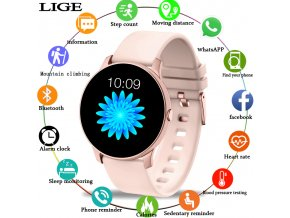 0 main 2019 new color screen women sport smart watch men women fitness tracker for iphone heart rate blood pressure function smartwatch