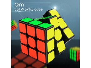 0 main qiyi sail w 3x3x3 speed magic cube black professional 3x3 cube puzzle educational toys for children gift 3x3