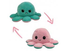 Oboustranná plyšová chobotnice