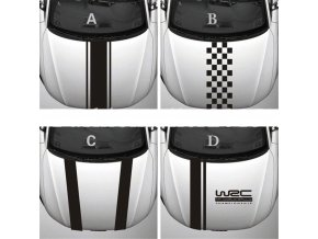 0 main chunmu customization wrc stripe car covers vinyl racing sports decal head car sticker for ford focus cruze renault accessories