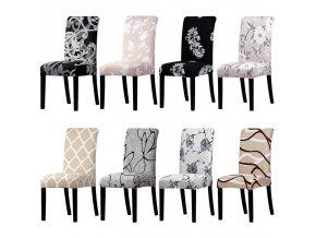 Natahovací potahy na židli STERCH