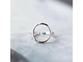 1 main bohemian vintage silver color circle rings for women female engagement rings vintage boho jewelry christmas gifts