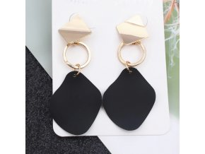 0 variant 2019 retro vintage statement earrings white geometric long dangle earrings for women wedding party christmas gift wholesale