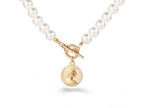 Trendy náhrdelníky s přívěškem Gold