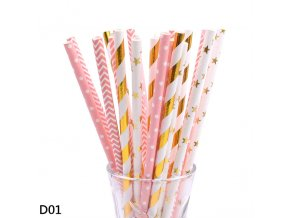 0 variant 2550pc multicolor rose gold silver pink blue foil star heart striped paper drinking straws for wedding birthday christmas decor