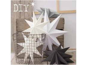 0 main 12 colors christmas ornaments 30cm 12 hanging paper star lantern decoration festival new year christmas decoration for home