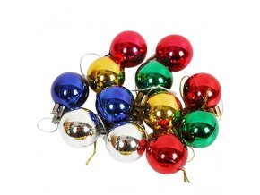 0 variant 12pcslot 30mm christmas tree decor ball bauble xmas party hanging ball ornament decorations for home christmas decorations gift (1)