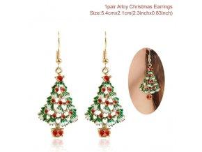 0 variant qifu santa claus snowman necklace snowflakes eardrop merry christmas decor for home 2020 christmas gift xmas decor new year 2021