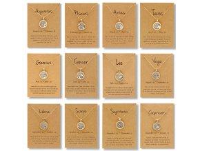 4 main vintage taurus aries virgo white black resin daytime night round coin pendant necklaces 12 constellation zodiac necklace jewelry