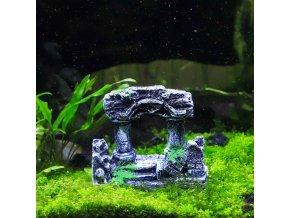 Dekorace do akvária BRÁNA