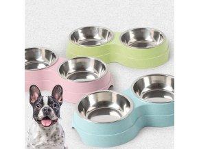 Miska na krmivo a vodu pro domácí mazlíčky PET