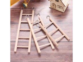 mainimage1Birds Toy Wooden Ladders Swing Scratcher Perch Climbing 3 4 5 6 7 8 Ladder Bird