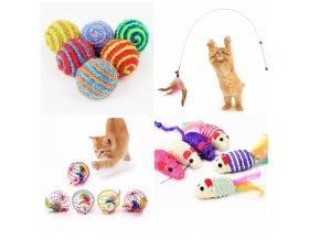 Hračky pro kočky - různé druhy