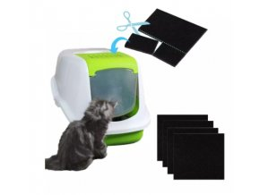 Stelivo pro kočky- filtr pro podestýlku Aida